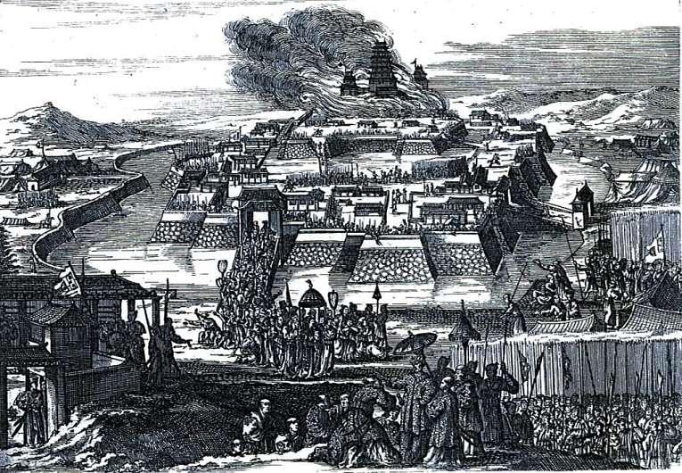 O trânsito em Edo, capital do Japão era muito intensa, especialmente durante as trocas dos daimyōs no Sankin Kotai