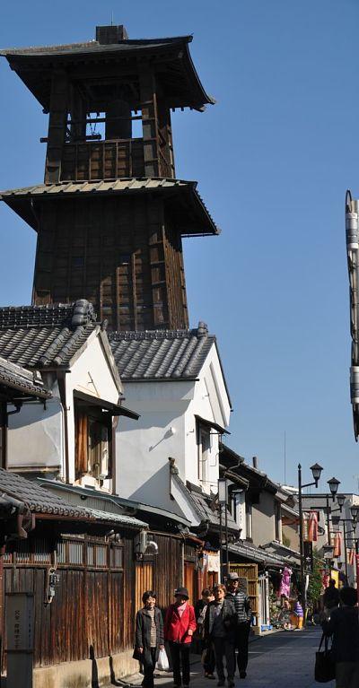 Torre de sino da cidade de Kawagoe