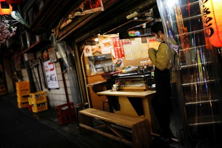 Oito prefeituras saíram do estado de emergência e, com exceção de Okayama e Hiroshima, entraram em estado de quase-emergência: Tokyo, Osaka, Kyoto, Hyogo, Okayama, Hiroshima, Fukuoka e Aichi. Foto por Issei Kato