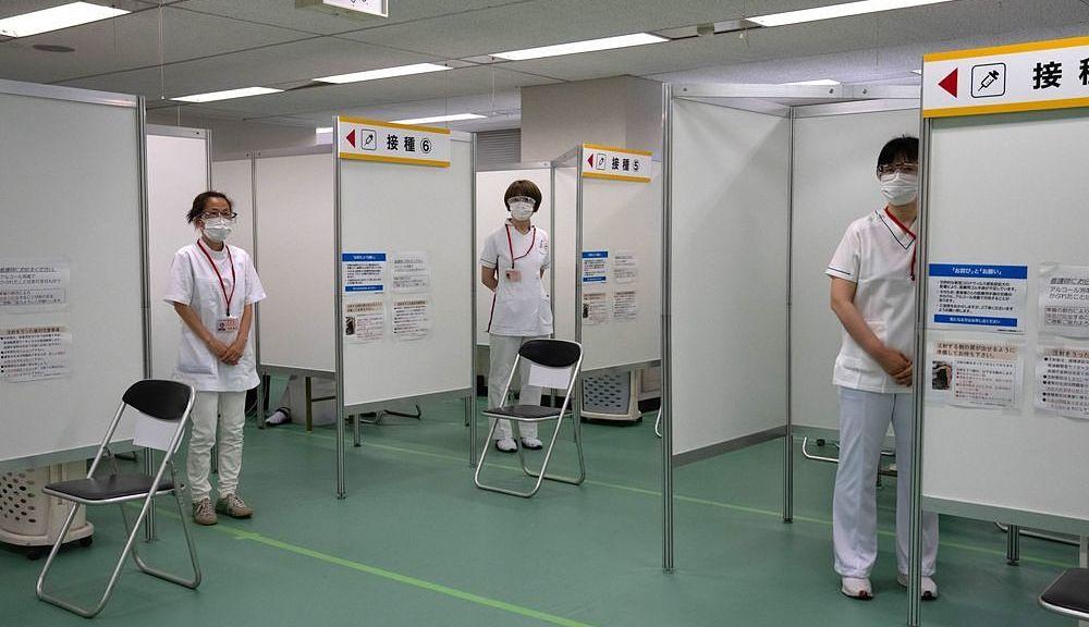 Japão consegue administrar 1 milhão de doses