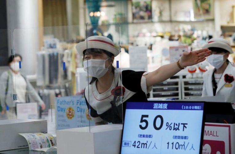 Neste domingo (20) o Japão registrou um dos melhores índices de 2021 em meio a pandemia do SARS-CoV-2