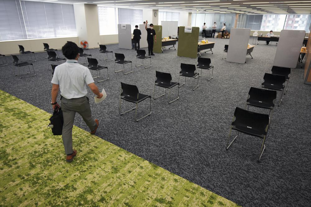 Empresa Suntory começa a vacinar seus funcionários no dia 21-06-21