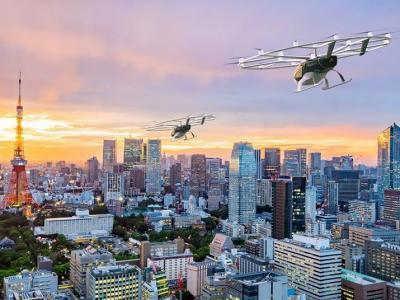 JAL comercializará voos em carros voadores em 2025