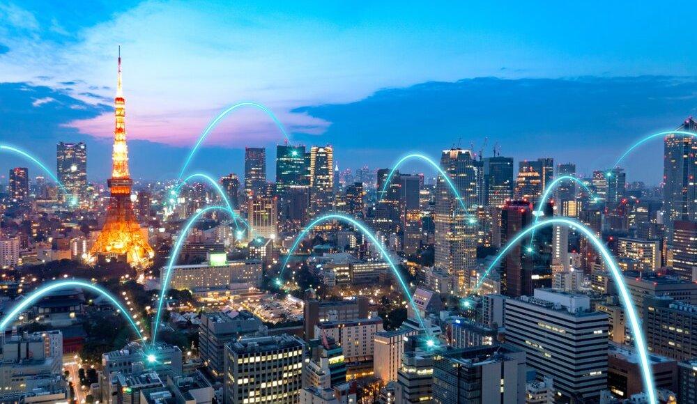 Japão usará ondas de transmissão para TV para rede 5G
