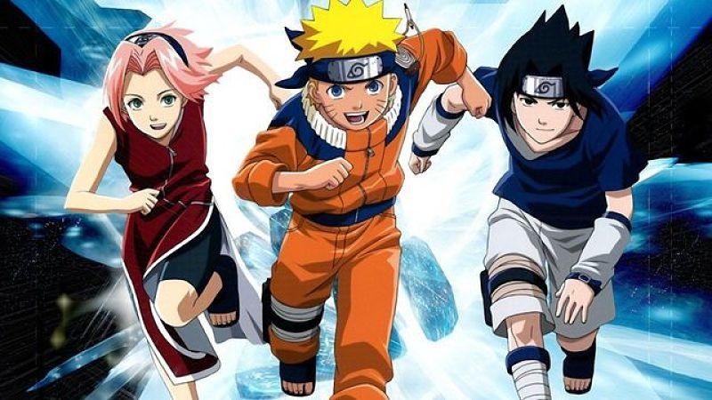 Time 7 - Sakura, Naruto e Sasuke