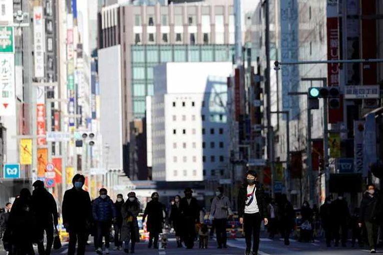 Tokyo atingiu níveis de contaminação de 7 de janeiro de 2021 quando 2.520 pessoas testaram positivo para COVID-19. Foto por Kim Kyung-Hoon/Reuters