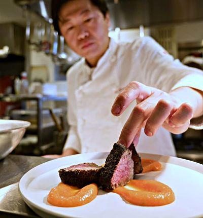 Corte de carne olive beef