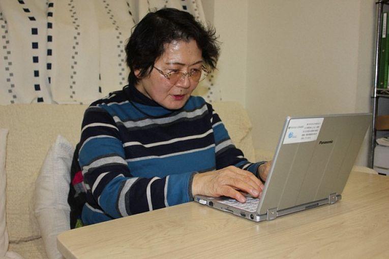 Diretora da organização sem fins lucrativos Ninshin SOS Shinjuku, Hatsumi Sato